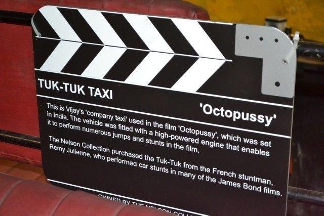 """TUK TUK TAXI  """"Octopussy"""""""