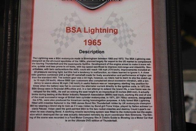 1965 BSA Lightning