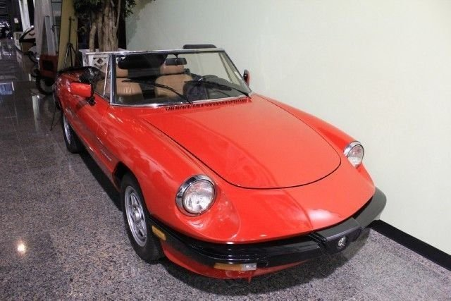 1989 Alfa Romeo Spider For Sale