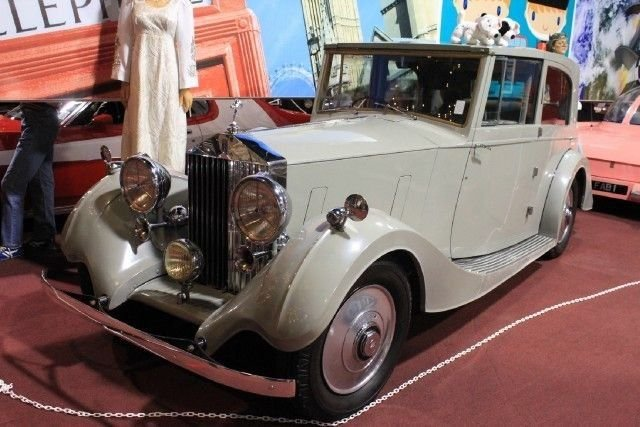 1937 rolls royce brougham top hat