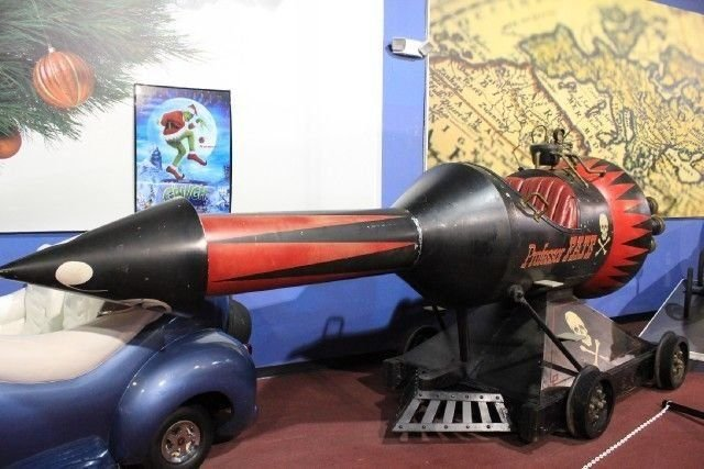 None listed great race rocket car