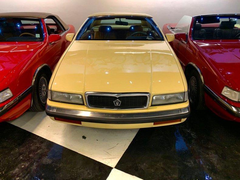 1990 Chrysler LEBARON MASERATI For Sale