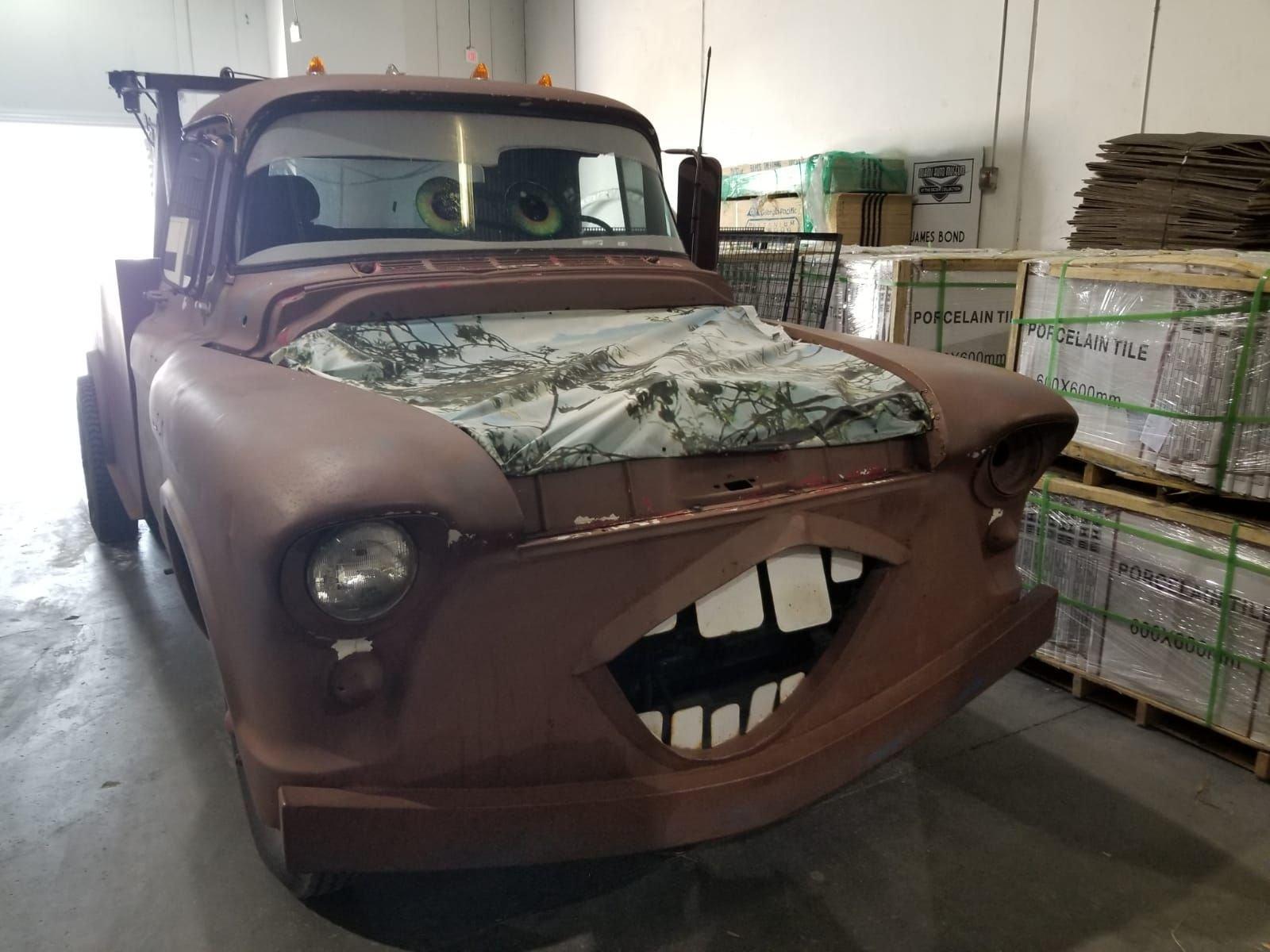 1955 chevrolet tow truck