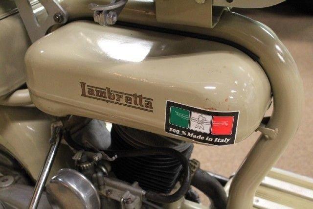 1951 LAMBRETTA Model C