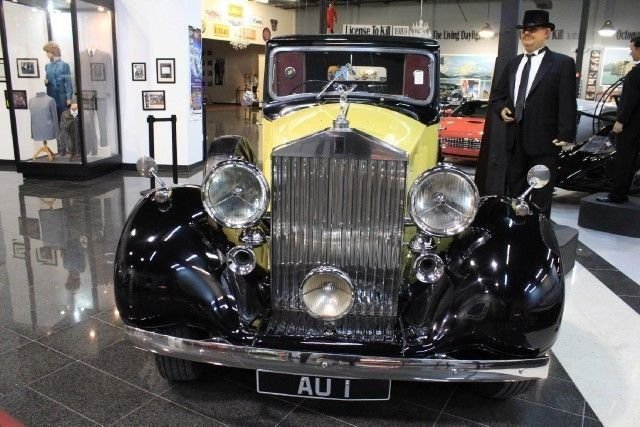 "1937 ROLLS ROYCE PHANTOM III ""Goldfinger"" | Orlando Auto ..."