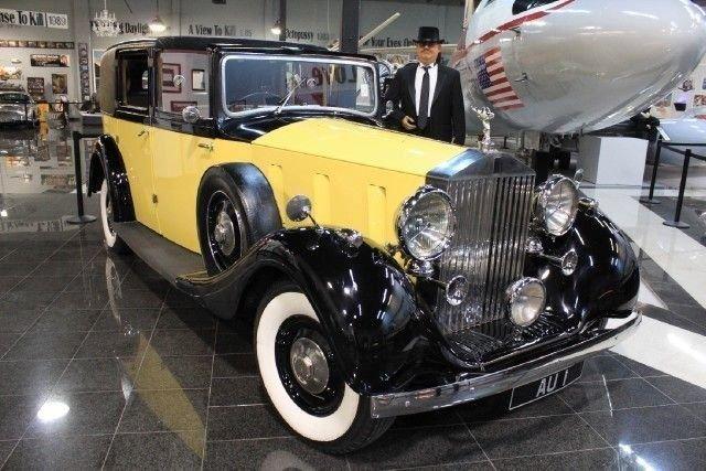 "1937 ROLLS ROYCE PHANTOM III ""Goldfinger"""