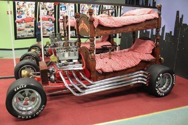 1970 Custom Bunkbed Car