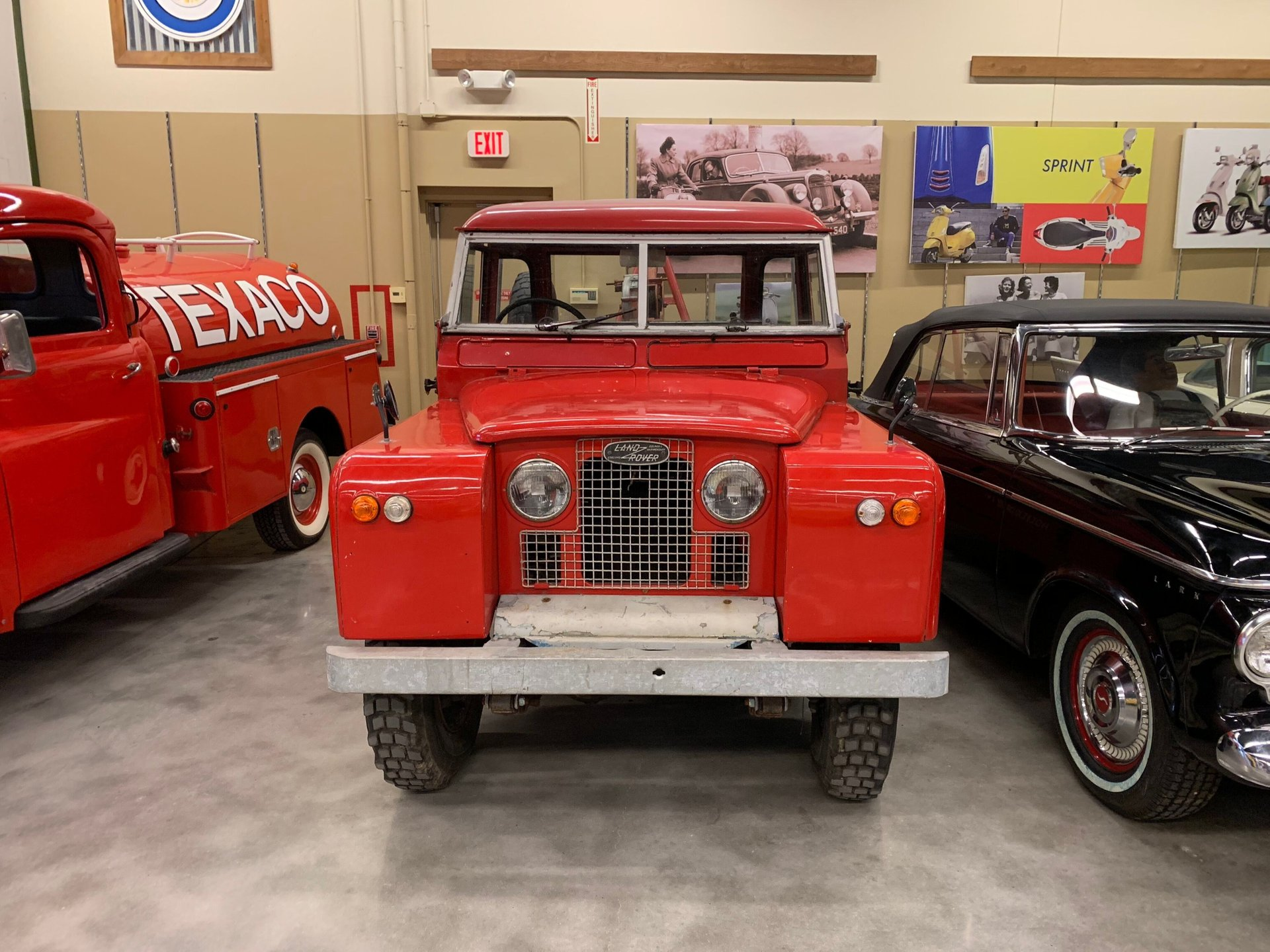 1966 land rover tow truck