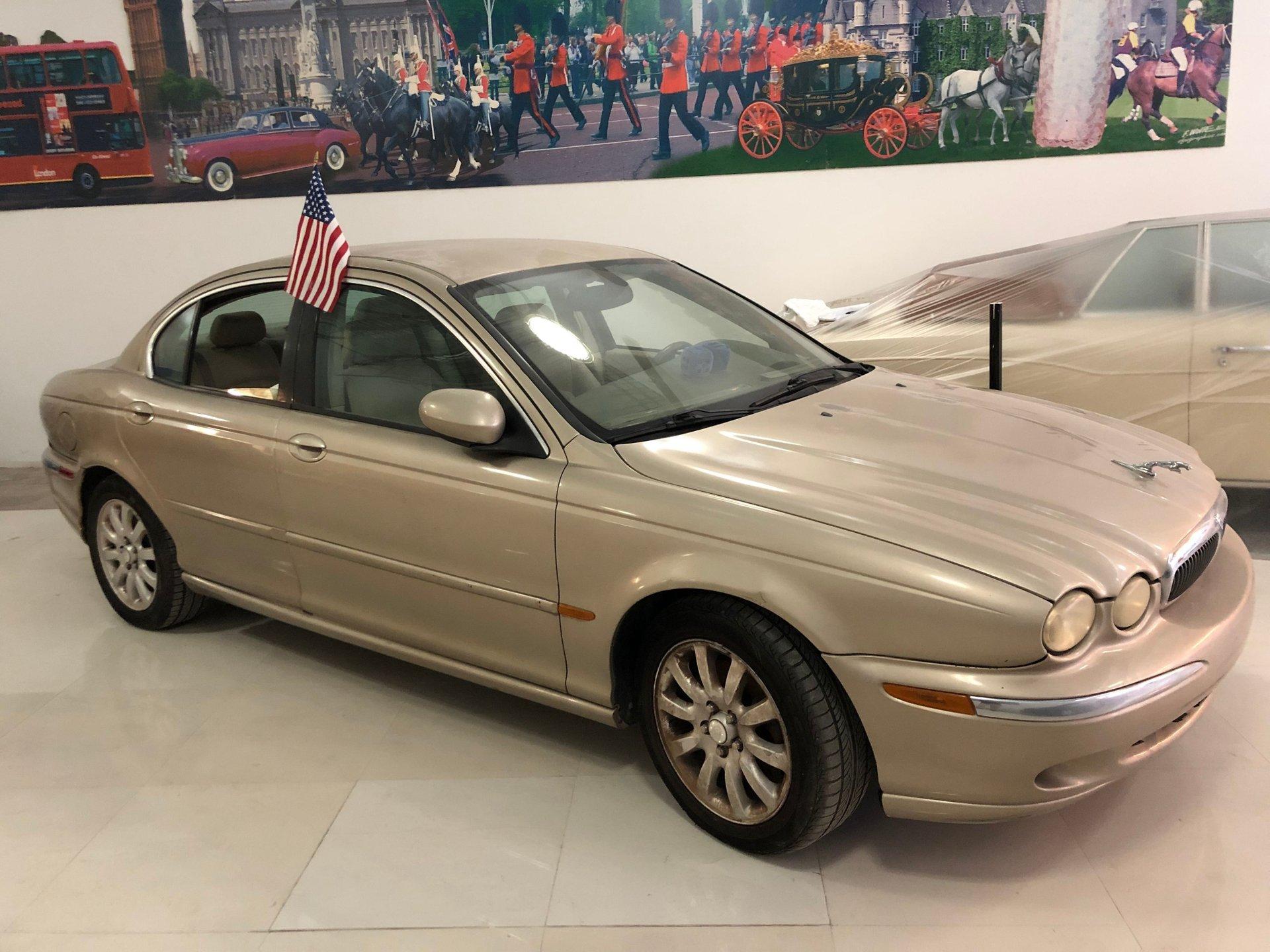 2003 jaguar x type awd