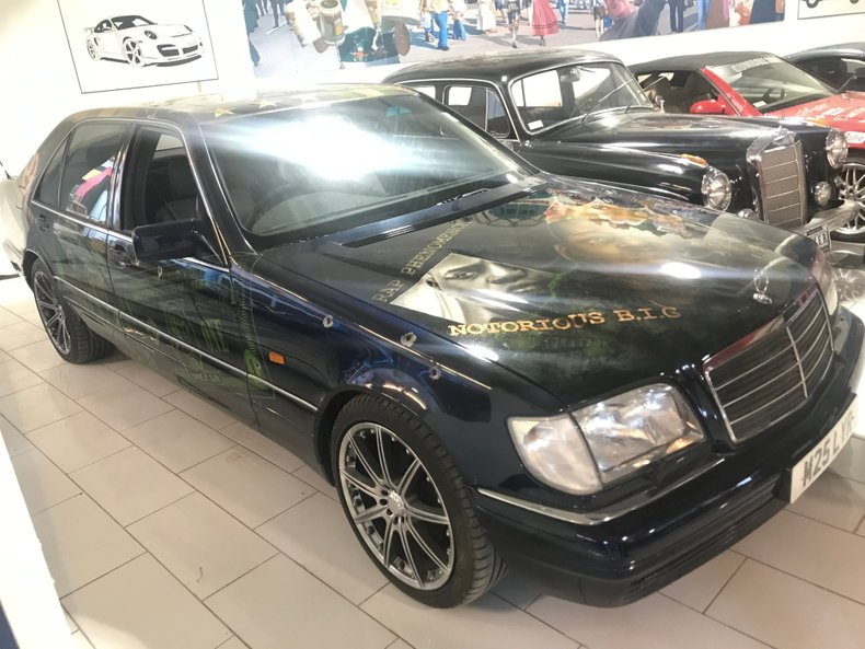 1994 MERCEDES S500