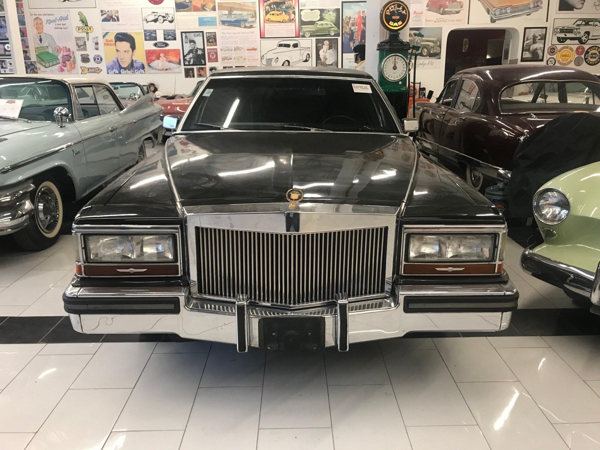 1989 cadillac trump limo