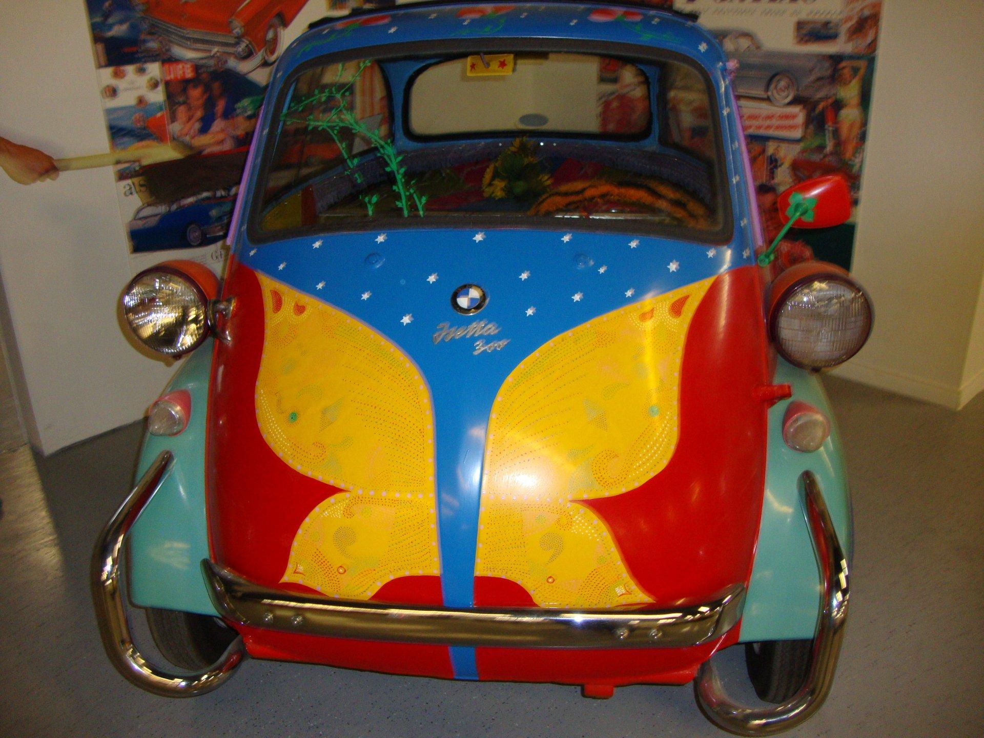 1958 bmw replica isetta 250