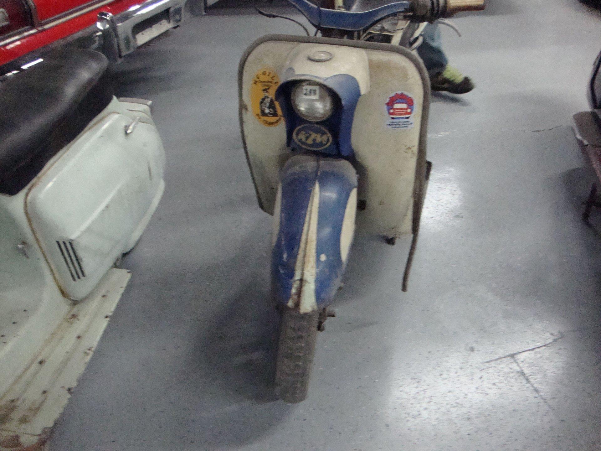 1962 ktm gritzner vintage scooter