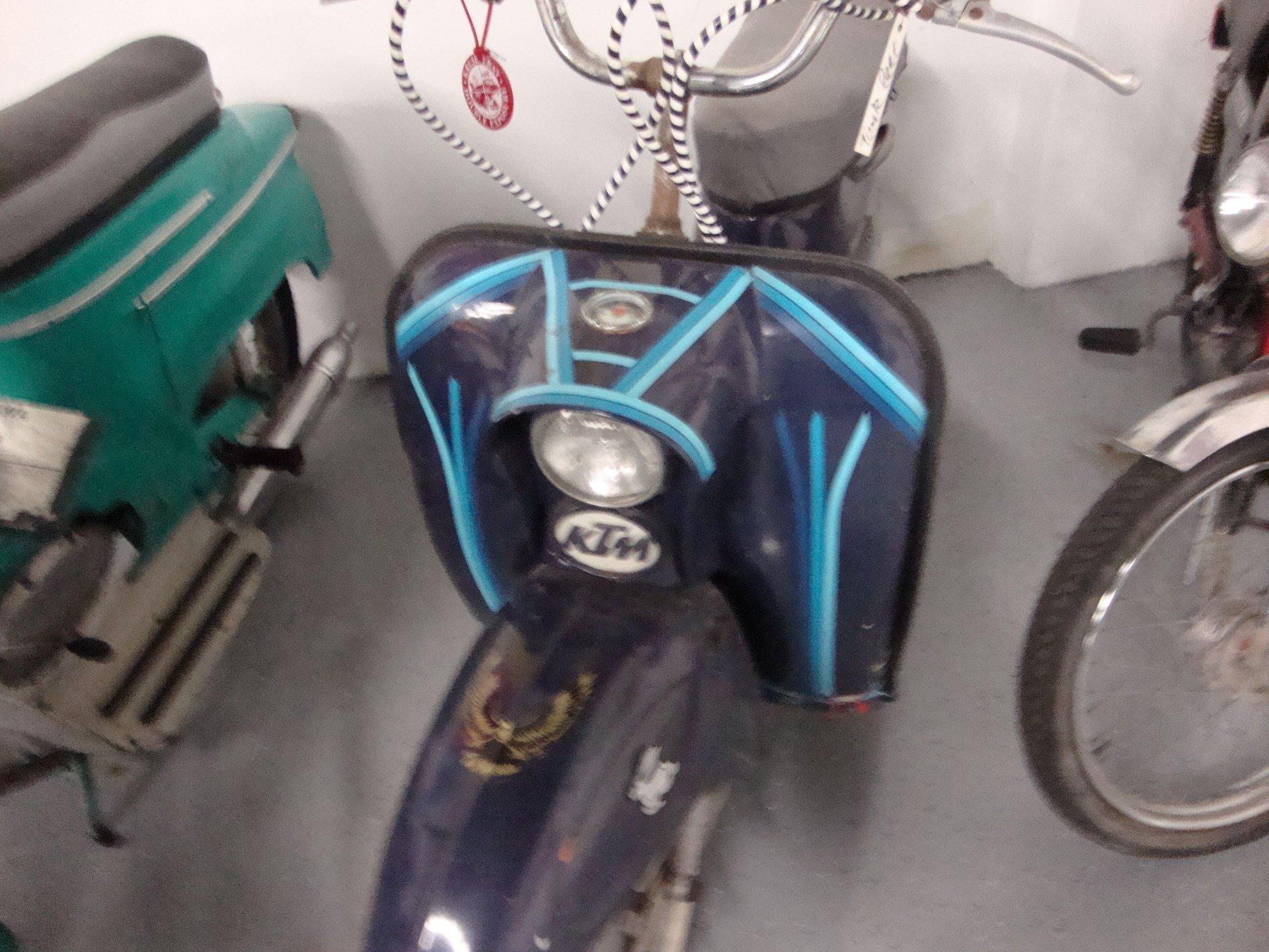 1961 ktm ponny vintage scooter