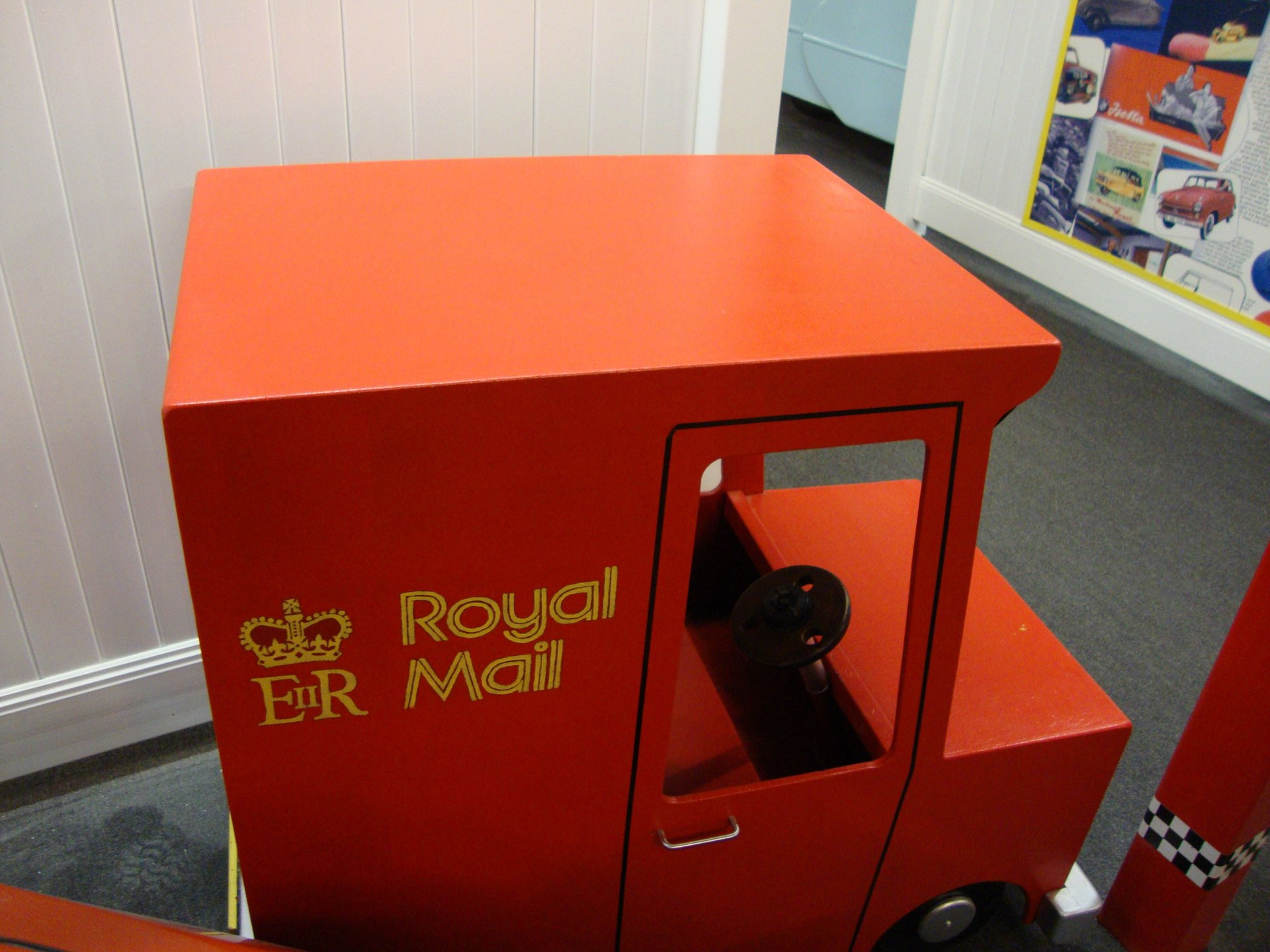 None listed postman pat childs ride