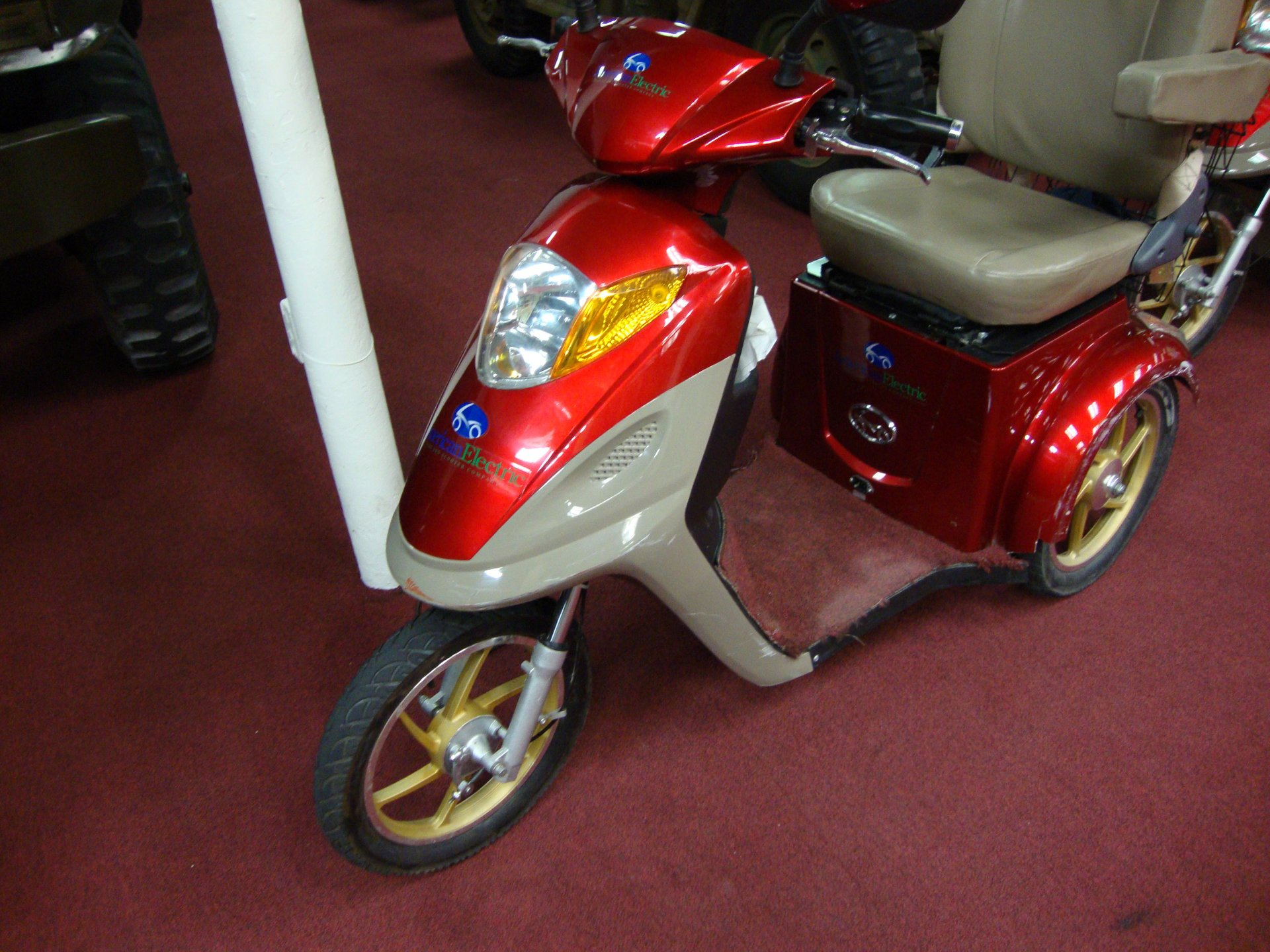 American electric scooter