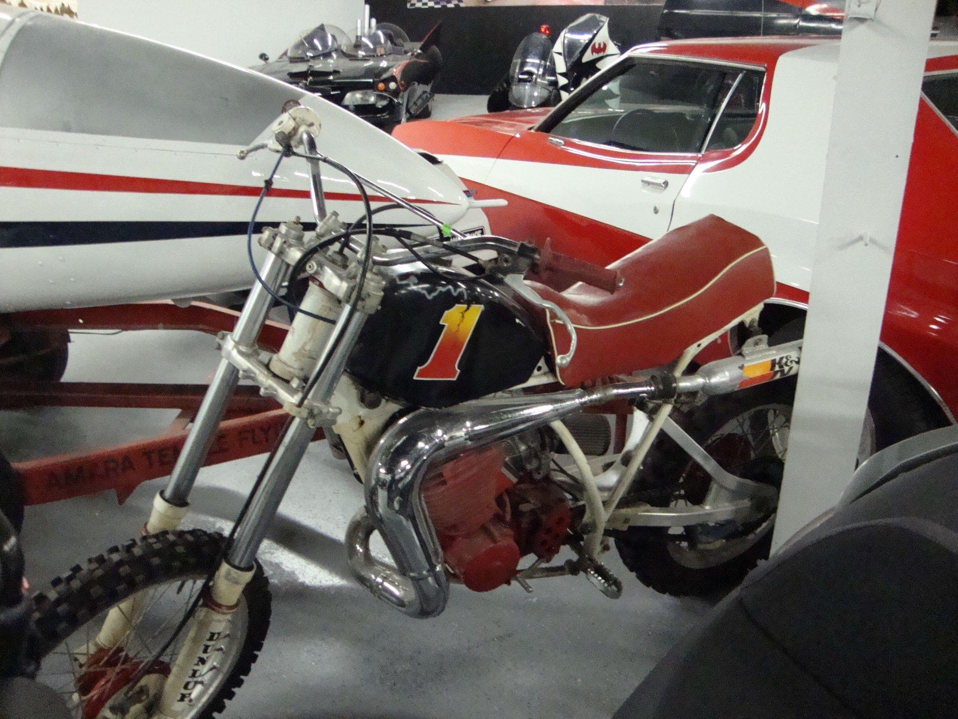 Yamaha custom dirt bike