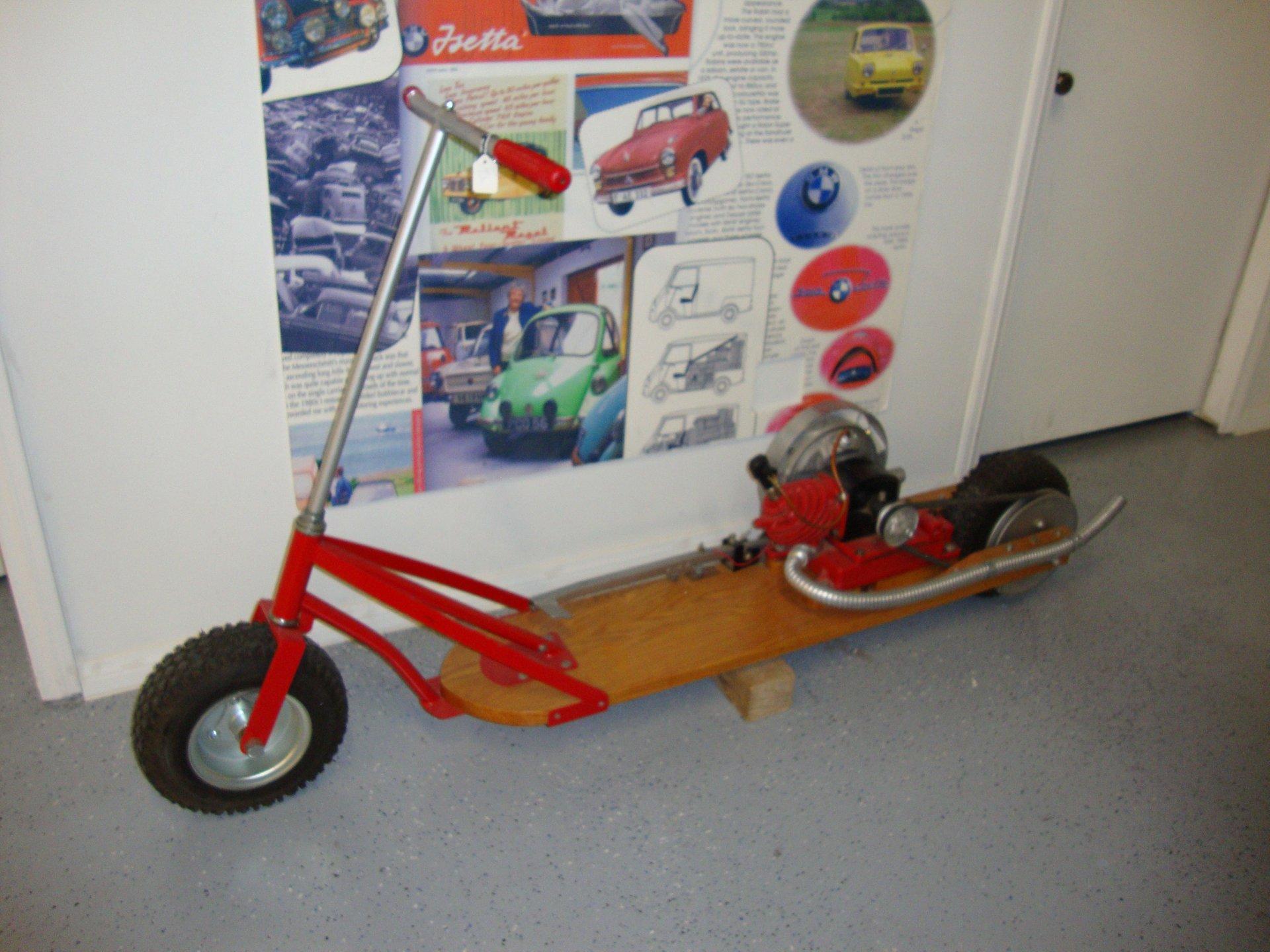 Maytag custom scooter