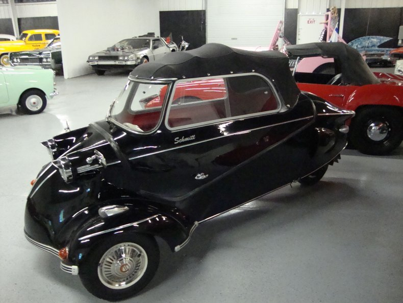 1960 s messerschmitt coupe