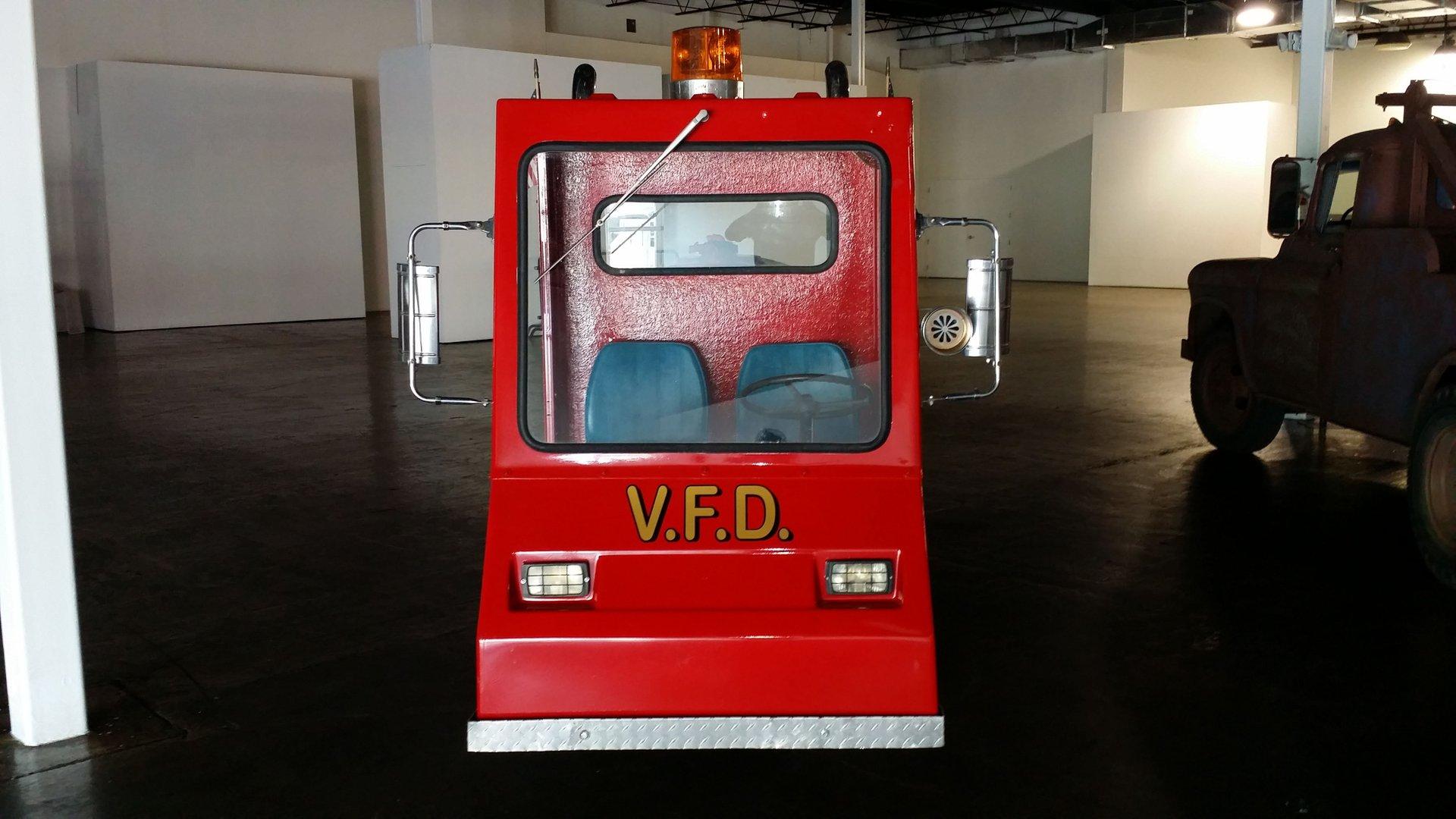 Cushman custom fire truck