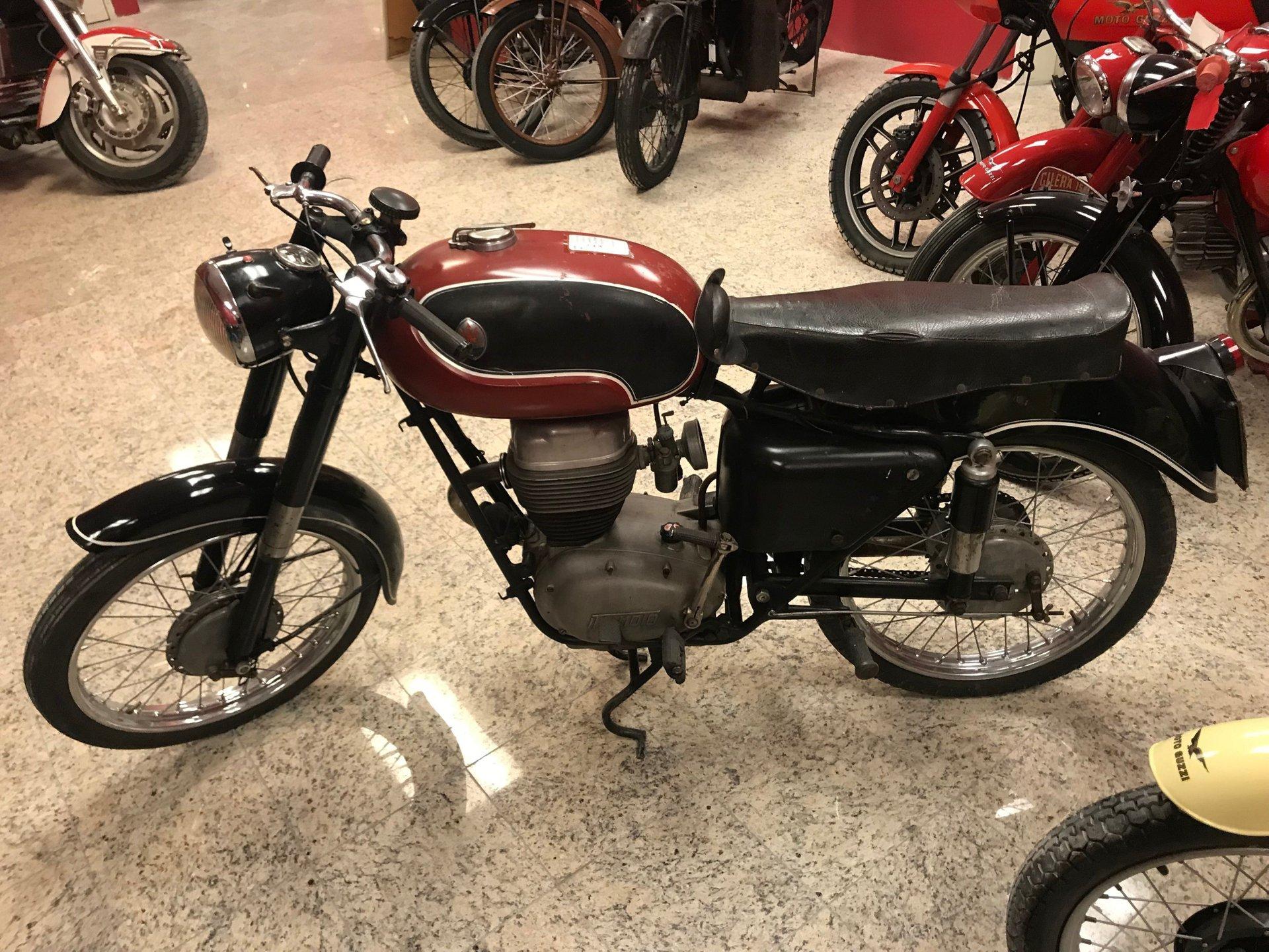 1953 maserati tipo motorcycle