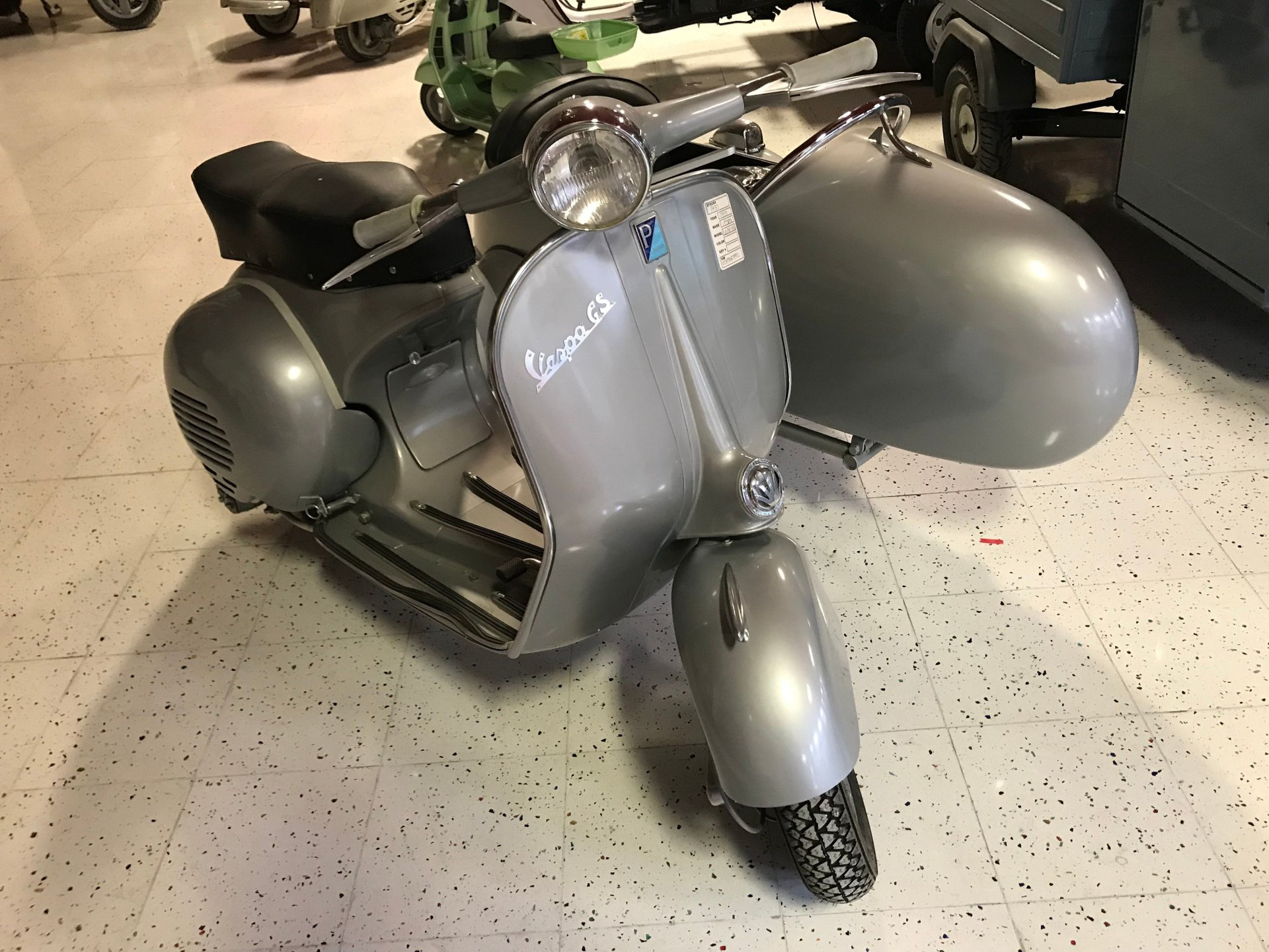 1957 vespa gs150vs3