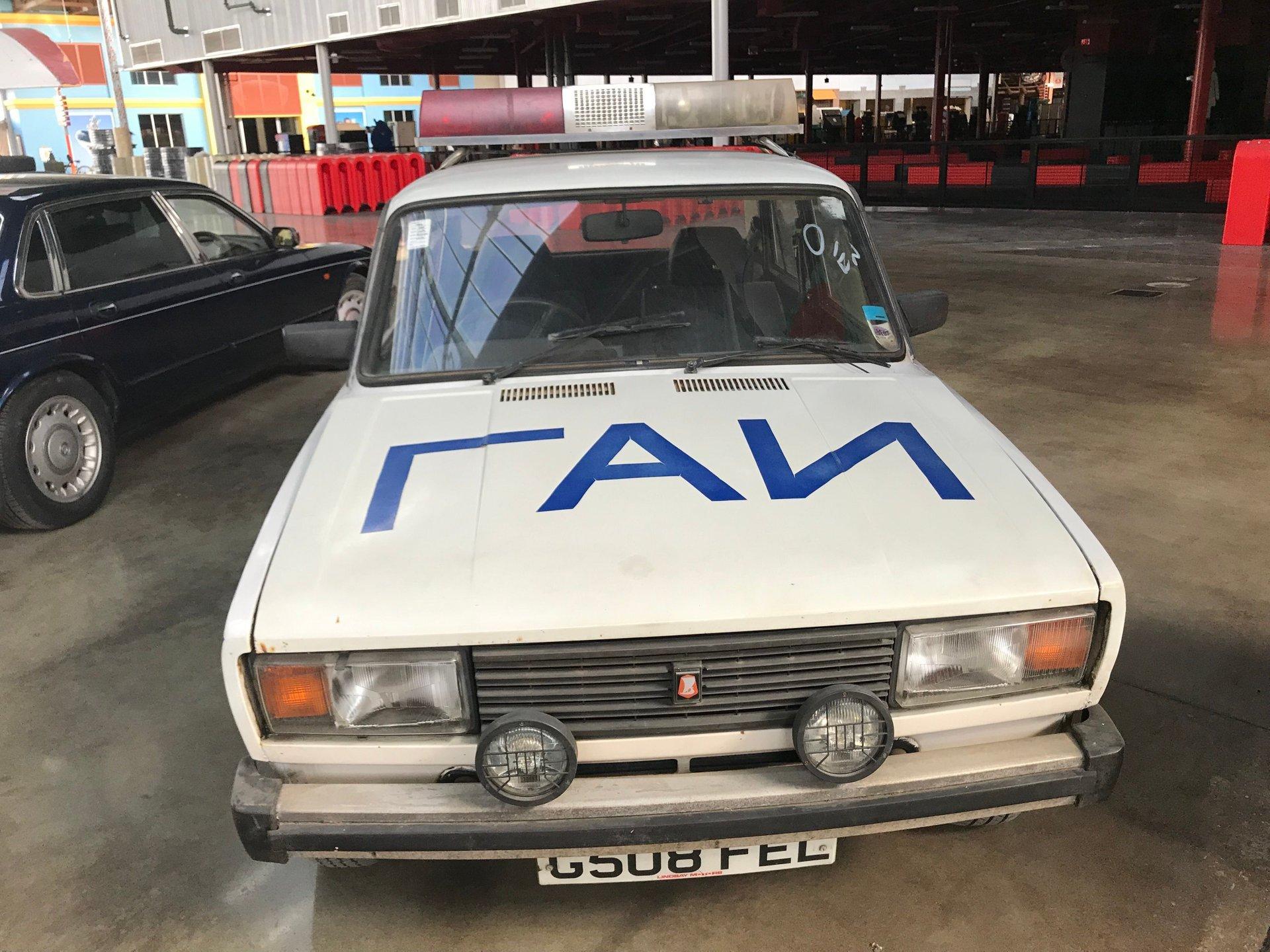 1984 LADA POLICE CAR | Orlando Auto Museum