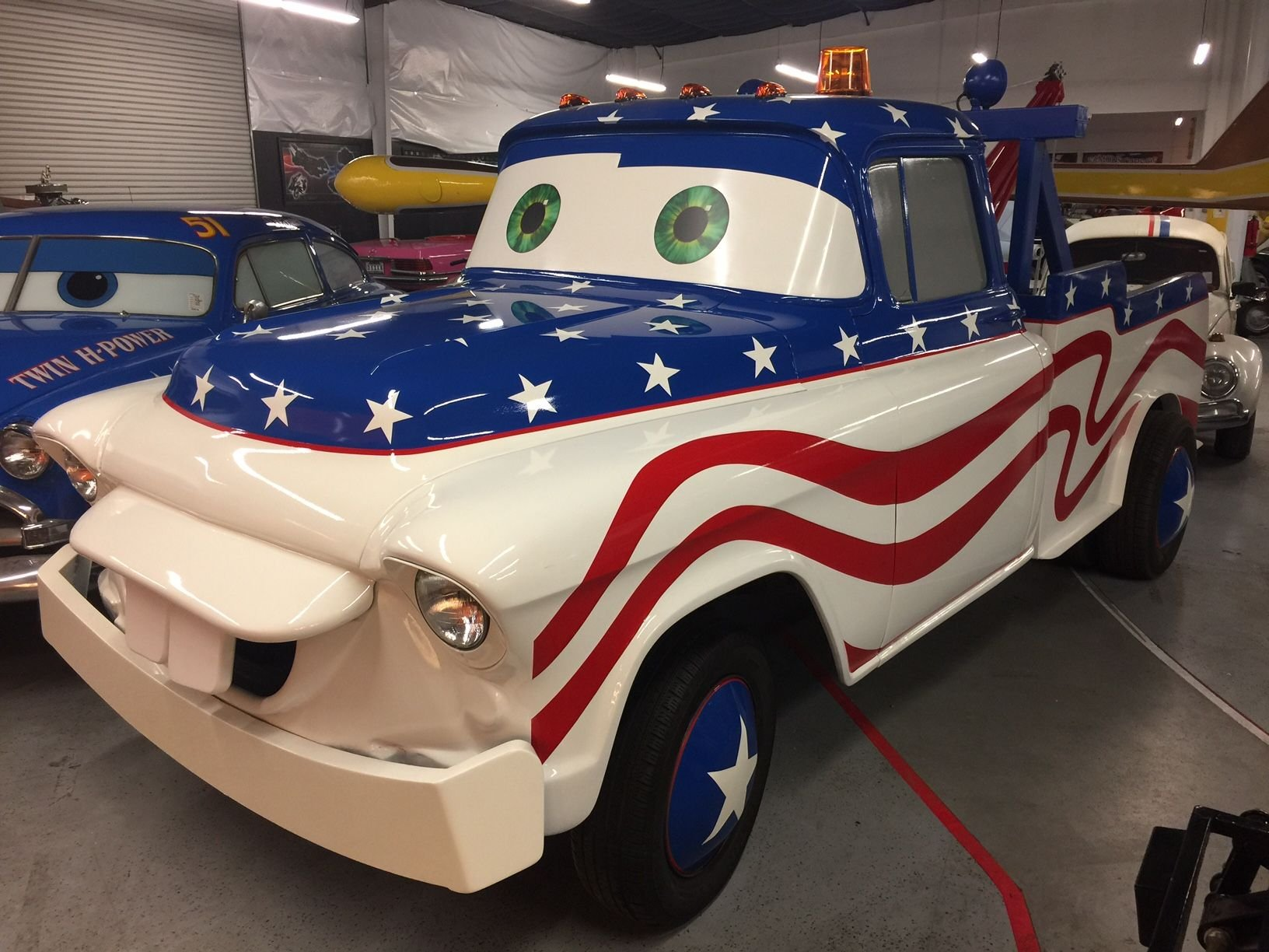 N a tow truck project car