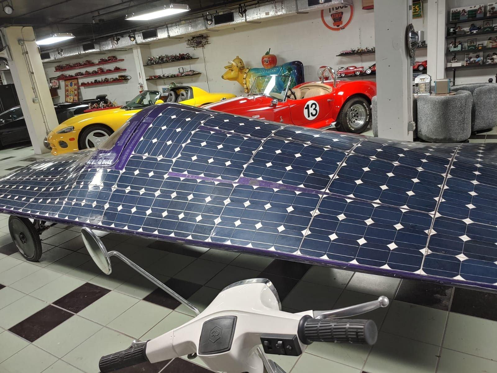 Solar energy powered prototype