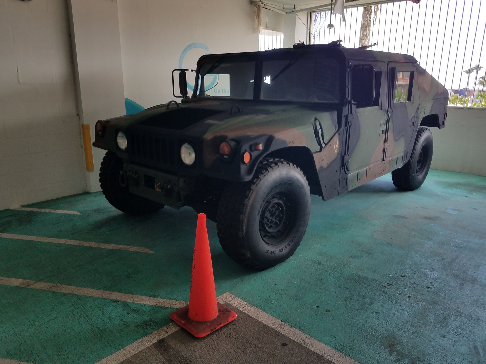 2012 mclb barstow military truck