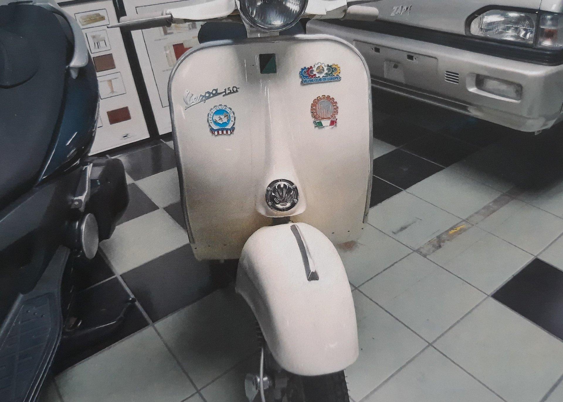 1958 vespa 150 cc