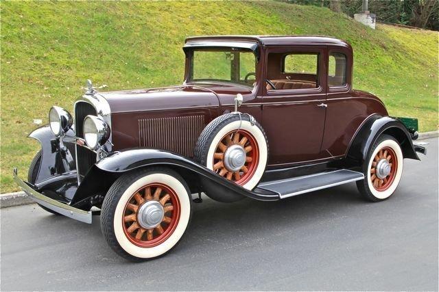 1931 OLDSMOBLIE DUAL
