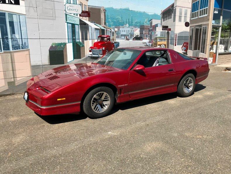 1986 Pontiac Firebird For Sale