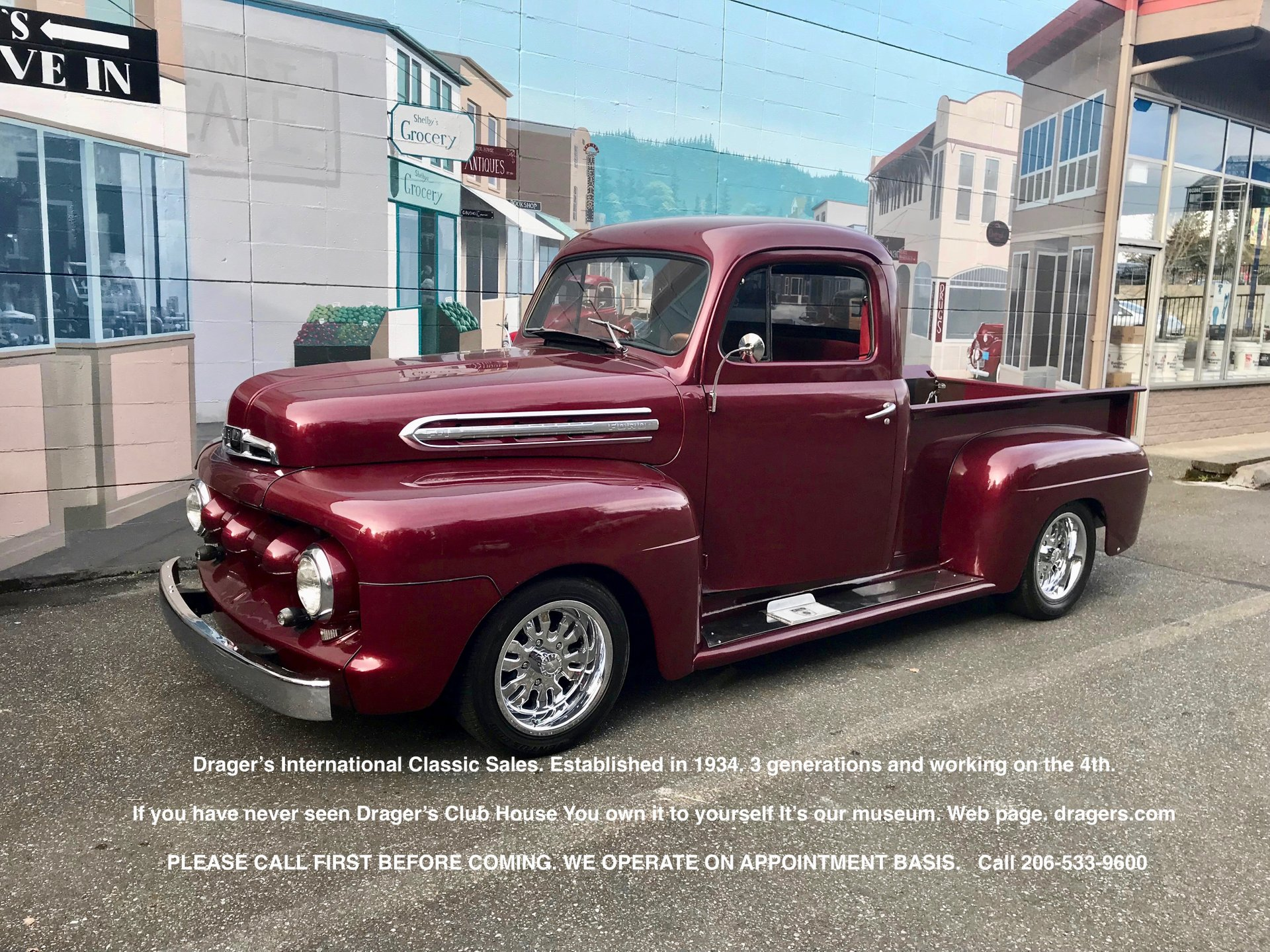 Inventory My Classic Garage 1951 1952 Ford F1 Pickup Truck