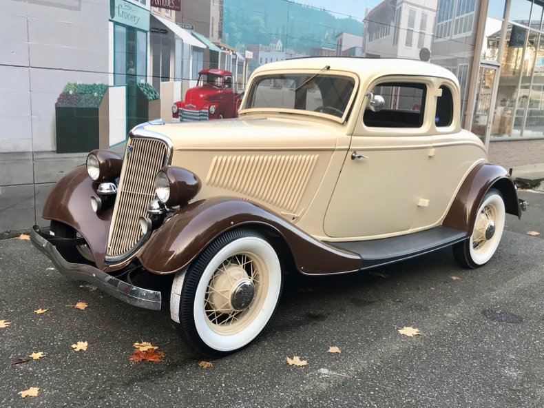 1934 Ford Deluxe For Sale