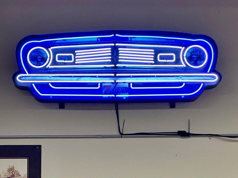 Camaro Grill Neon Sign