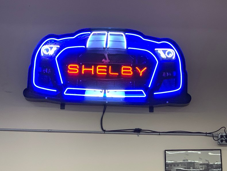 Shelby GT500 Grill Neon Sign