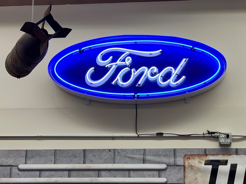 Ford Grill Neon Sign