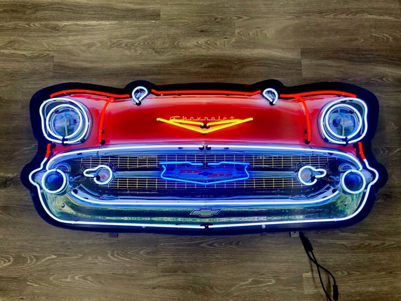 1957 CHEVROLET BEL-AIR GRILL