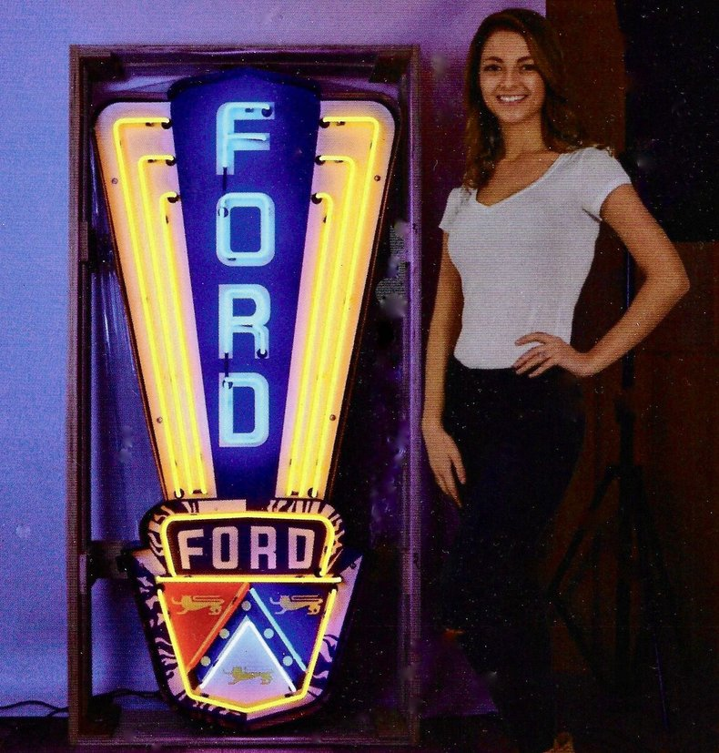 FORD JUBILEE NEON SIGN