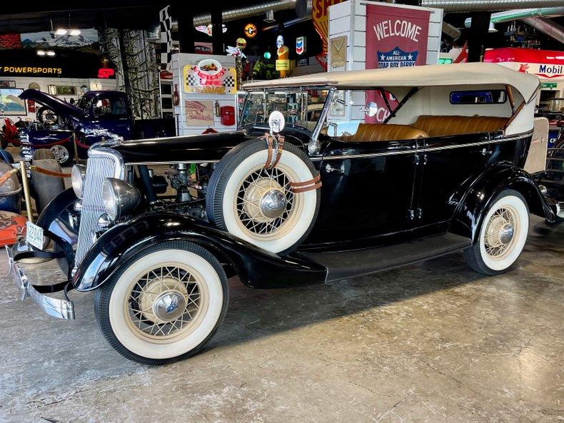 1934 Ford Phaeton