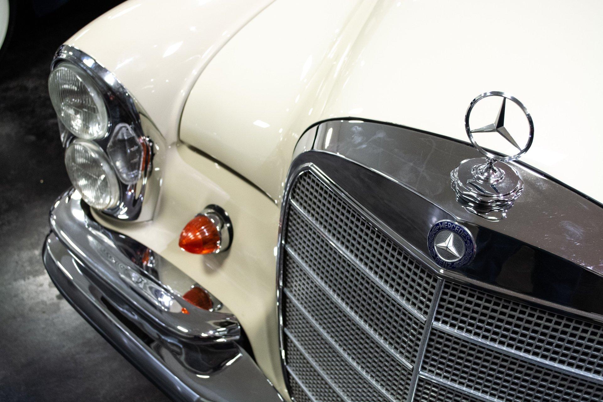 1969 mercedes benz 280 se cabriolet