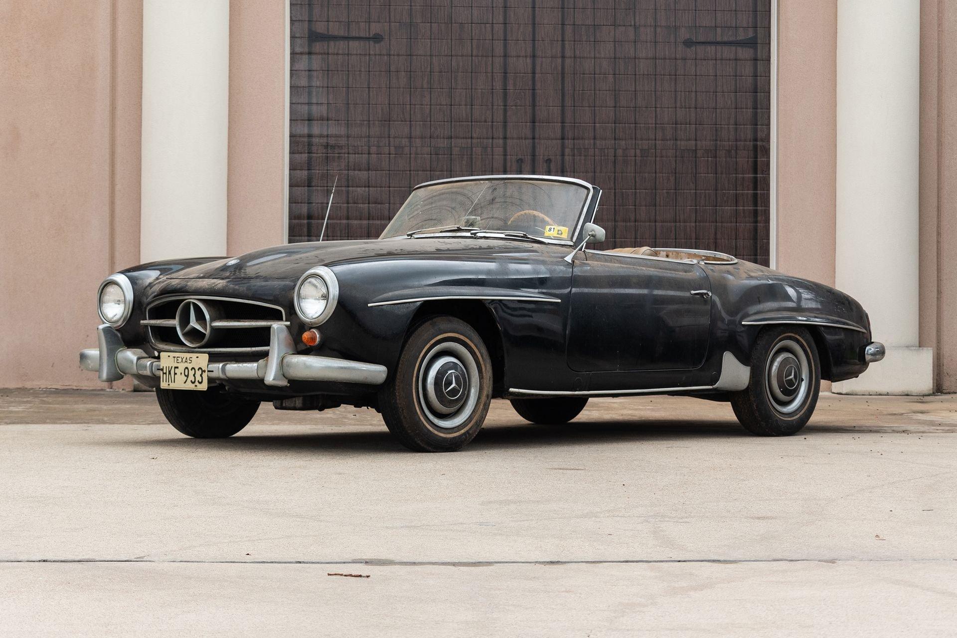 1963 mercedes benz 190sl