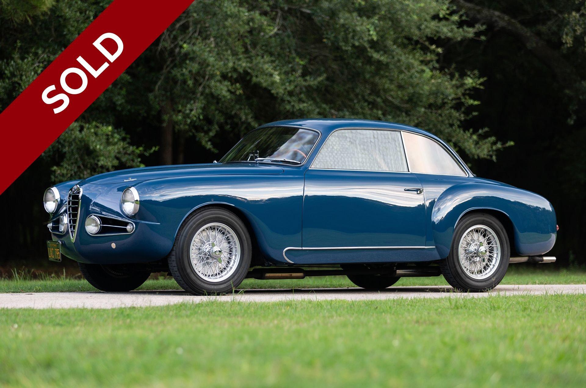Sold 1955 alfa romeo 1900c ss coupe
