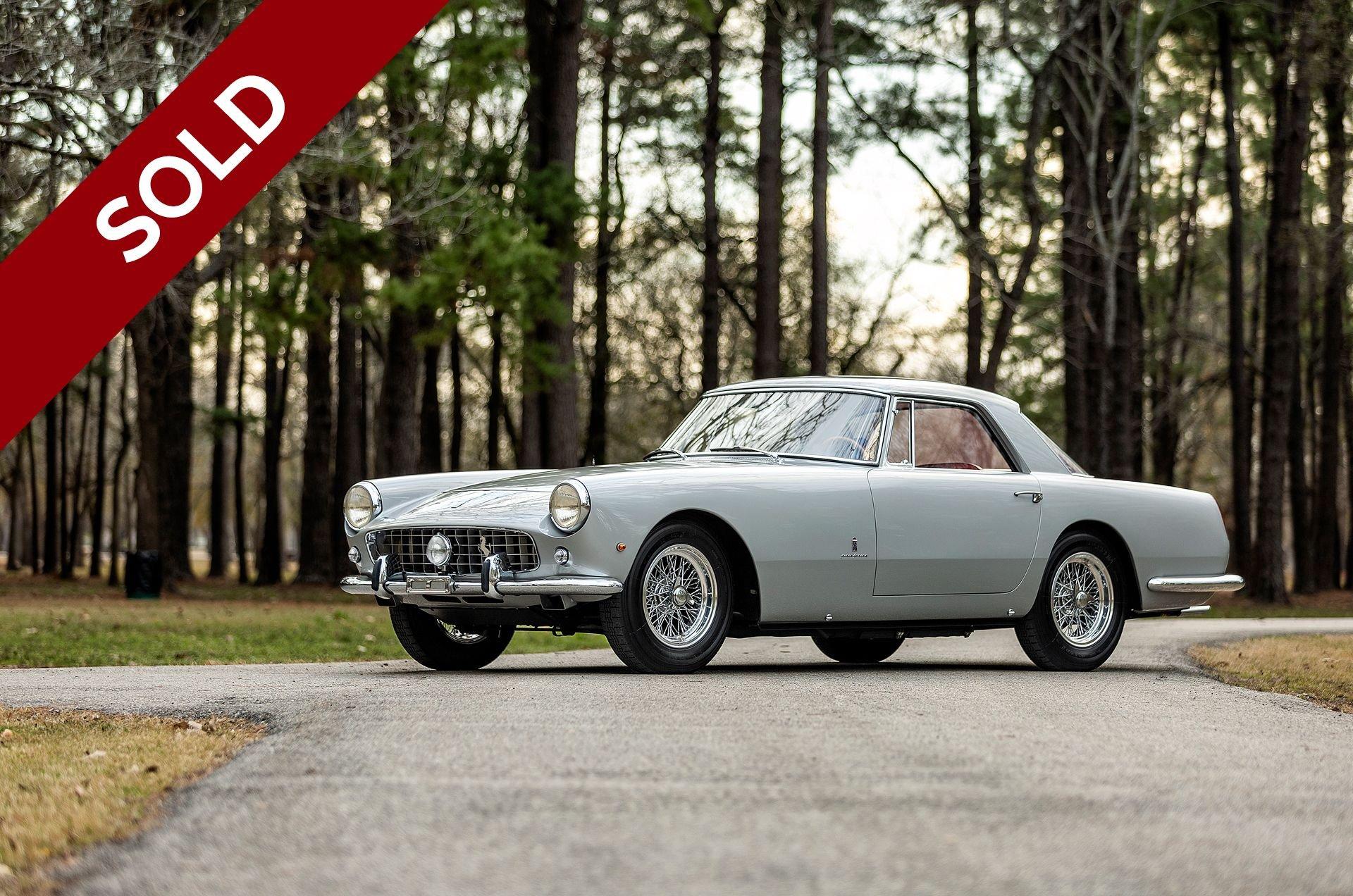 Sold 1960 ferrari 250 pf coupe