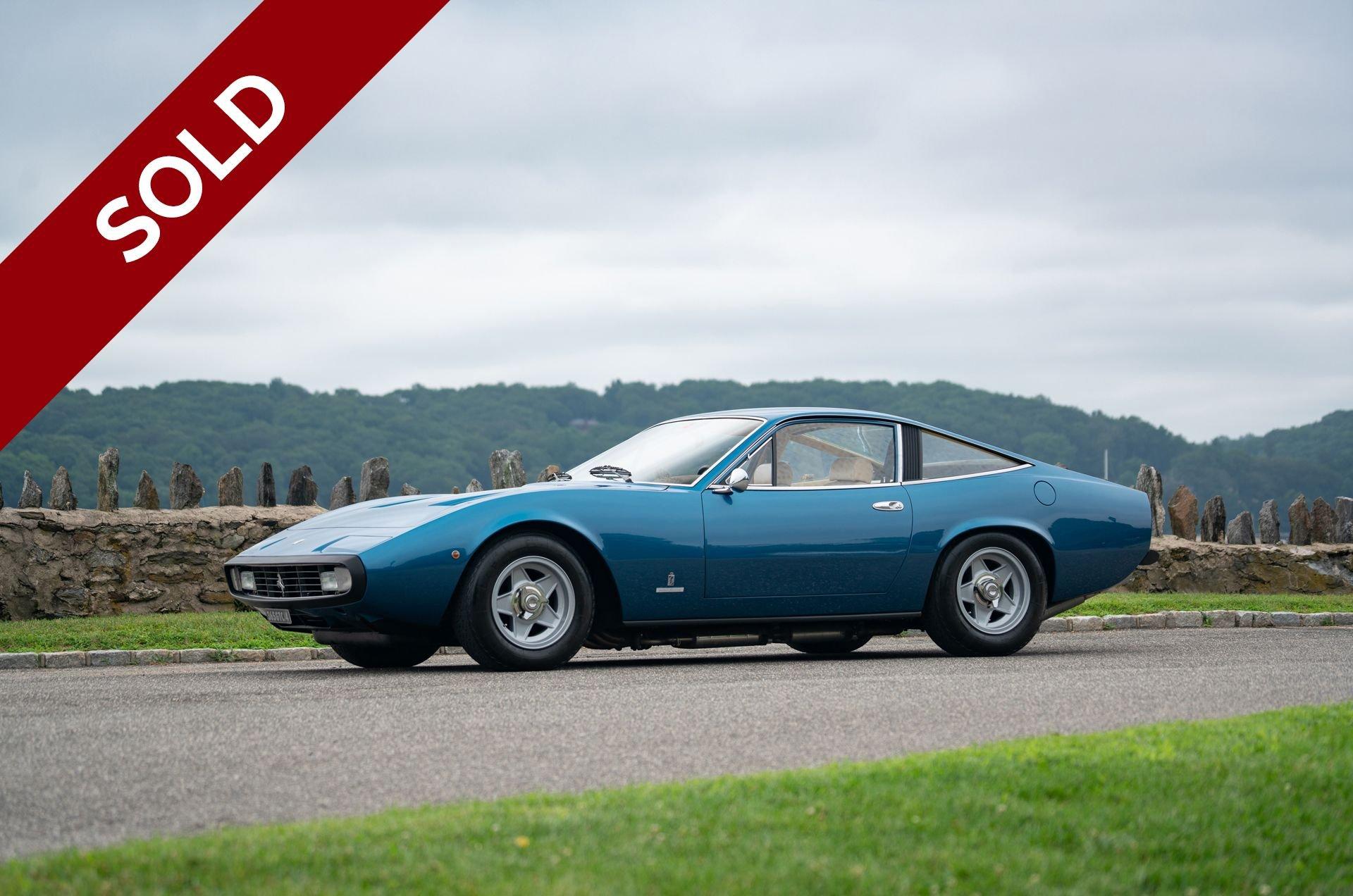 Sold 1972 ferrari 365 gtc 4