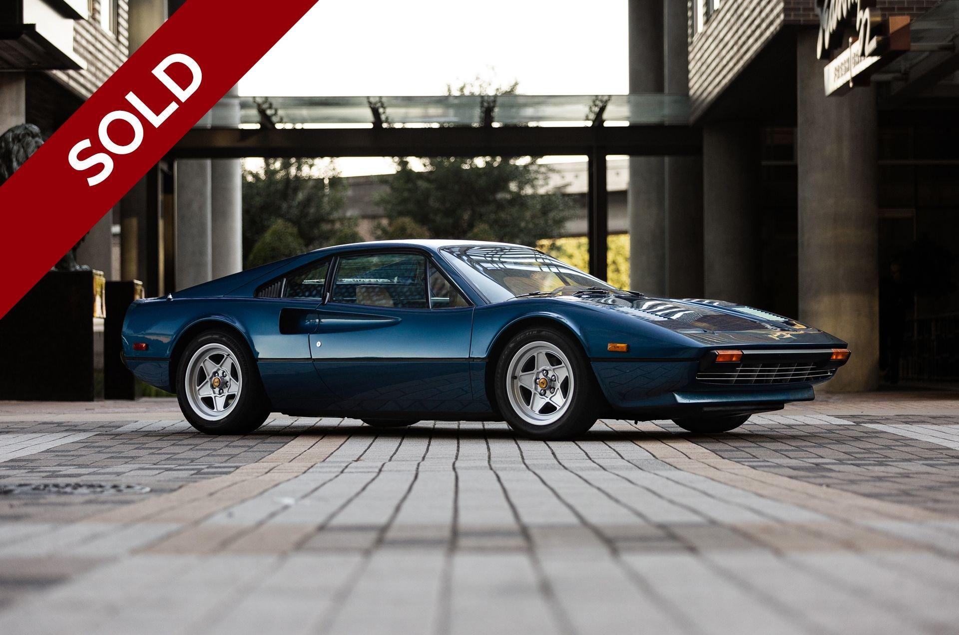 Sold 1977 ferrari 308 gtb