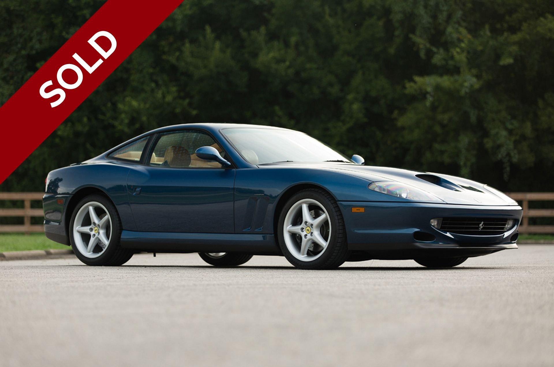 Sold 1999 ferrari 550 maranello