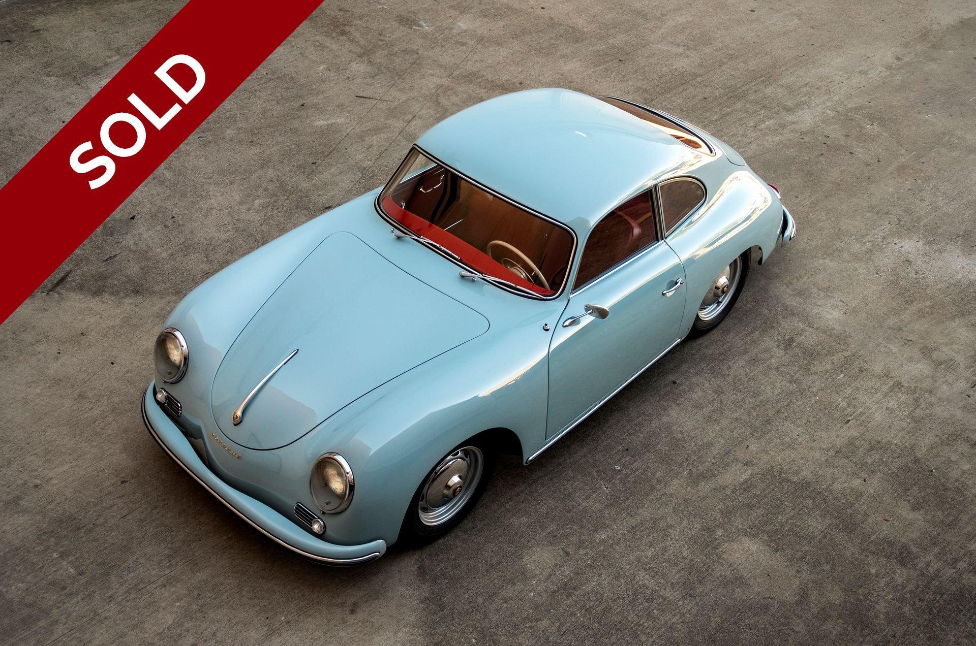 Sold 1959 porsche 356a coupe