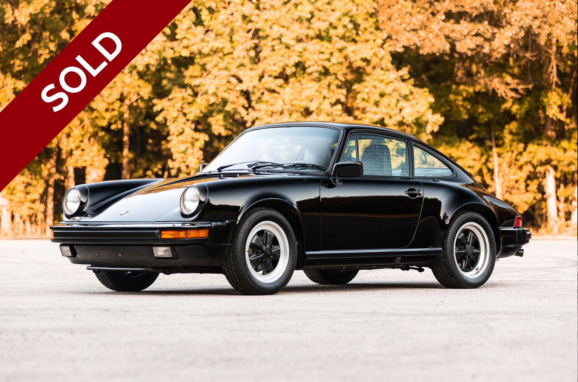 Sold 1985 porsche 911 carrera